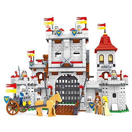Bloques de construcción, el montaje de los bloques huecos castillo de juguete Bloques 1118 Piezas de juguetes educativos Inserción Laboral de la Construcción Ingeniería temprana enseñanza kit creativo Juguetes