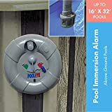 PoolEye Above Ground Pool Alarm, Small, Gray