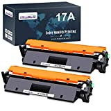 OfficeWorld Sostituzione per HP 17A CF217A Cartuccia di toner con Chip (2 Nero) Compatibile per HP Laserjet Pro M102A M102W, HP Laserjet Pro MFP M130a M130nw M130fn M130fw Stampanti