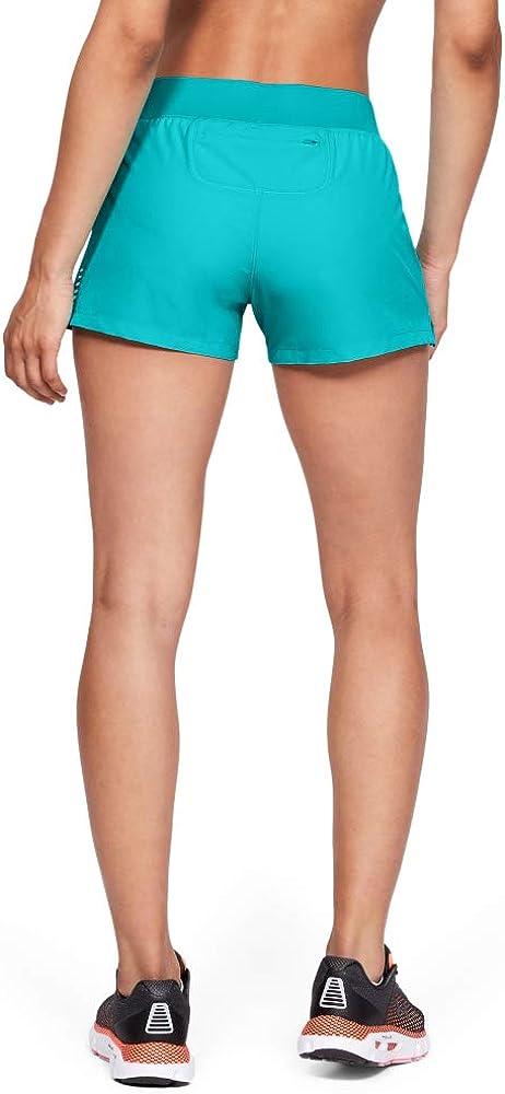 Under Armour Womens Qualifier Speedpocket Shorts