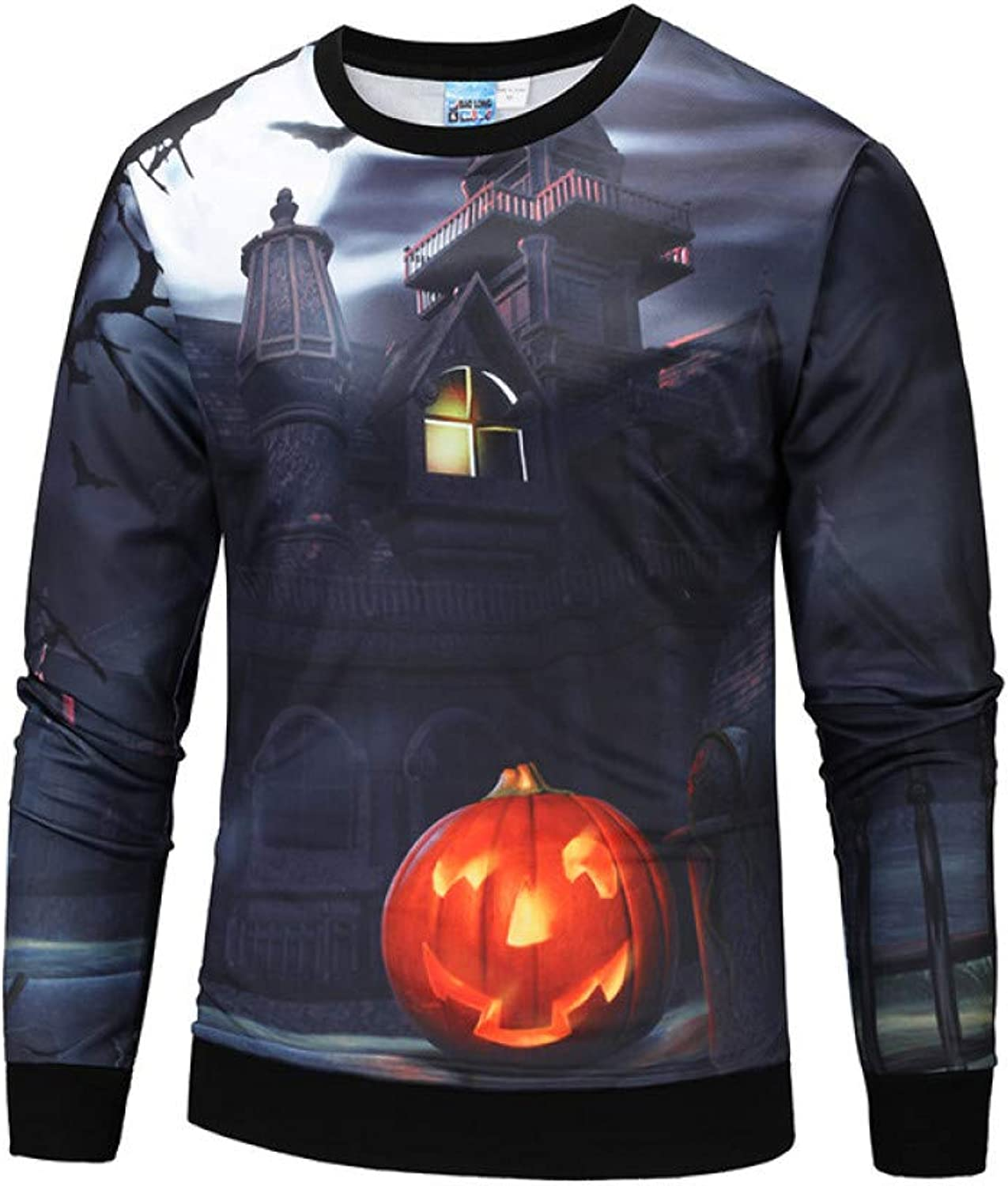 GMYANWY and Winter wear Large Size 3D Printing Sweater Funny Tide Clothing