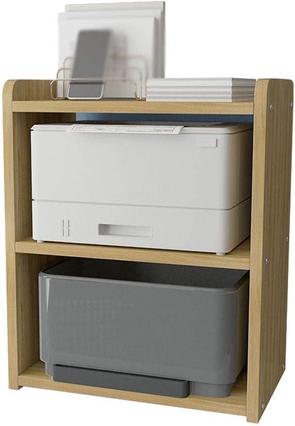 JKXWX Storage Shelf Desktop Printer Challenge the lowest price Machine R Fax Stand 3-Layer San Jose Mall