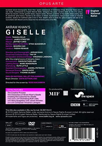 Akram Khan's Giselle [Tamaro Rojo; James Streeter; Jeffrey Cirio; Stina Quagebeur; English National Ballet] [Opus Arte: OA1284D] [DVD] [2019] [NTSC]