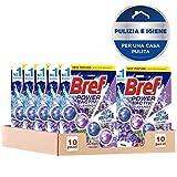 Bref WC Power Activ Lavanda Detergente Profumatore WC in Pastiglie Igienizzante Bagno, Pul...