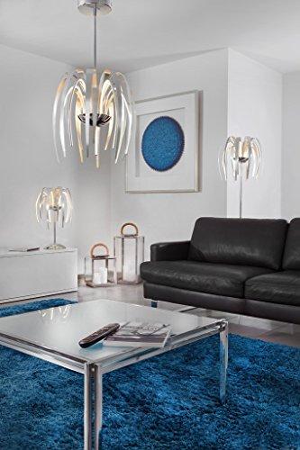 Sompex lampe de table Leave 68 cm, 22 W, aluminium, Dimmable, LED
