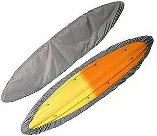 Fundas para barcos Qiilu Cubierta del barco hecha de tela oxford 600 D 17-19ft gris impermeable y antipolvo con cuerda de 21M y bolsa de almacenamiento