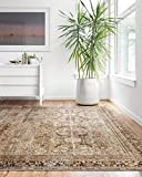 Loloi II Layla Collection Area Rugs, 2'-3' x 3'-9', OLIVE/CHARCOAL