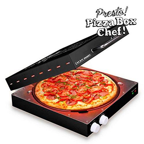 Appetitissime Presto! Elektrische Pizzapfanne, 1.200 W