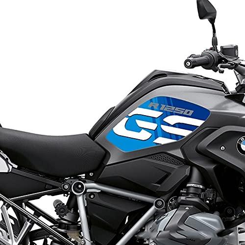 Etiquetas engomadas decorativas de la motocicleta Para B-MW R1250GS R1200GS 2018 2018 Motorcycle Fuel Stay Pad Pegatinas protectoras calcomanías (Color : R1200E)