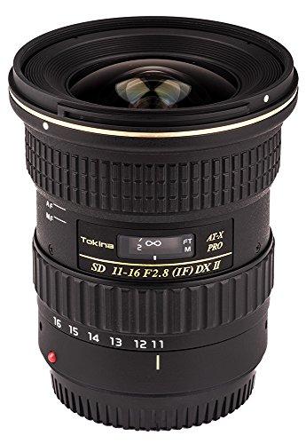 Tokina ATXAF116DXIIC Objektiv, 11-16 mm f/2.8 Pro DX-II für Canon EF, Schwarz