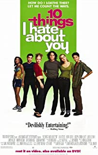 Best 10 things i hate about you poster Reviews
