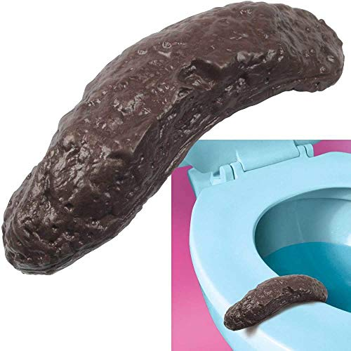 Loftus New Hilarious Rubber 4 Inch Fake Human Poop Crap Turd - Funny Gross Prank