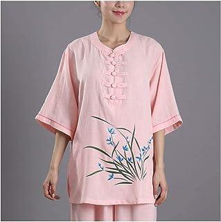 Tai Chi Suit Clothing Unisex Uniforms Kung Fu Martial Arts Sets Wing Chun Costumes Qi Gong Shaolin,E-2XL