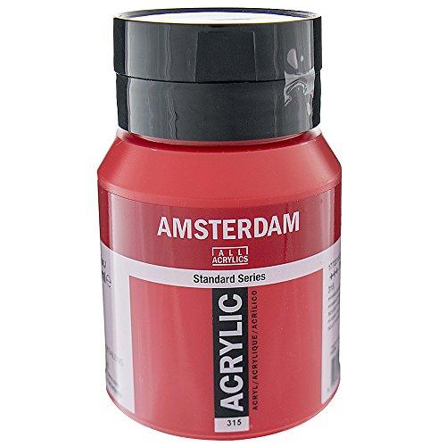 Amsterdam Acryl Kleur 500ml fles PYRROLE ROOD