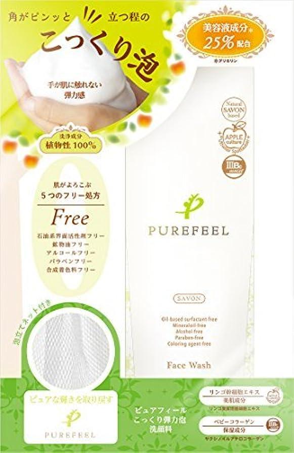 残酷なプレゼンター混雑Purefeel こっくり泡洗顔料 100G 【まとめ買い240個セット】