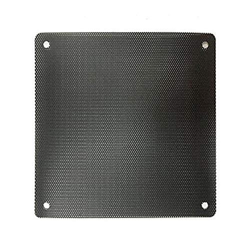 NaiCasy - Filtro Antipolvere per PC, 140 mm, Nero, in PVC