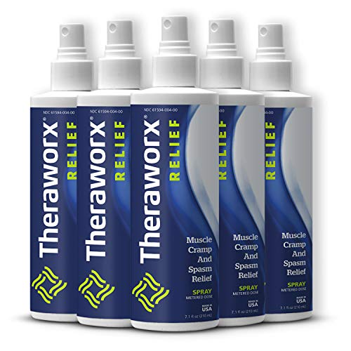 Theraworx Relief for Muscle Cramps and Spasms Spray - 5