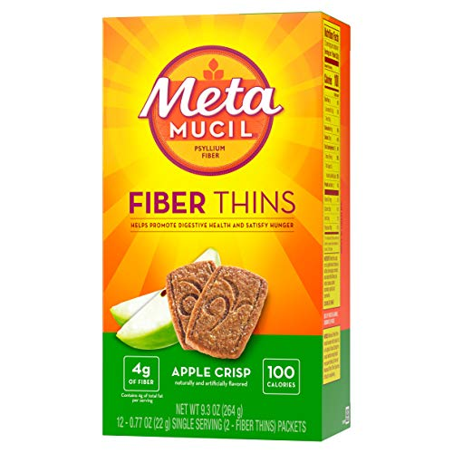 Metamucil Metamucil Fiber Wafers, Apple Crisp 24 each