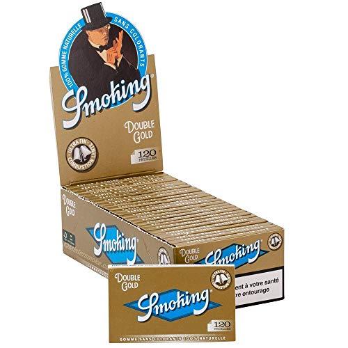 papier à rouler smoking regular doré x25