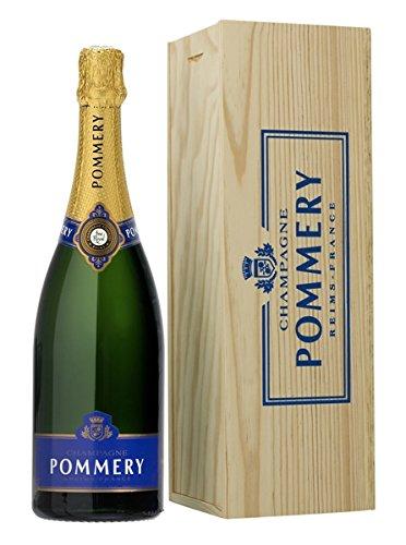 Pommery Champagner Royal Brut Jéroboam in Holzkiste 12,5% 3l Flasche