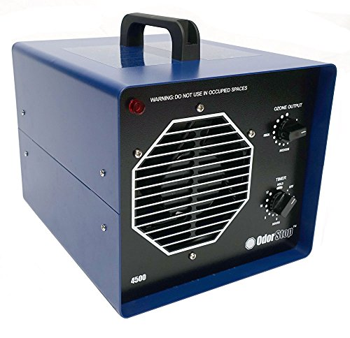 OdorStop OS4500 Professional Grade Ozone Generator Ionizer for Areas of 4500 Square Feet+, For Deodorizing and Purifying Medium to Large Spaces Such as Commercial Properties and Gyms (4500 sq ft +)