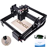 DIY Wood Engraving Machine for Beginners 3000mw CNC Engraver Pro Engraver Router Printer Machine for Handicraft Wood Desktop Working Area 200mm x290mm cenoz Christmas Nice Gift
