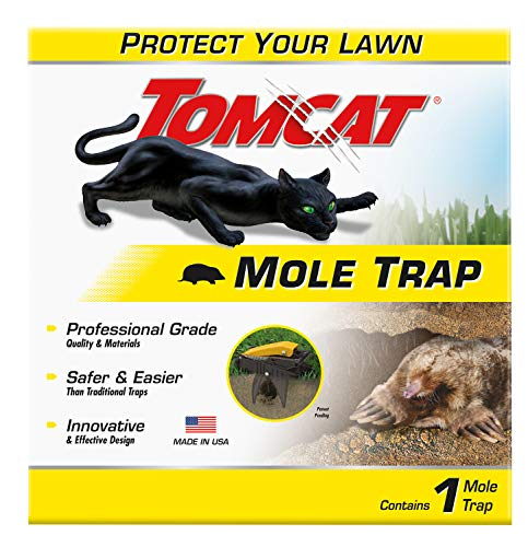 Best mole traps - Tomcat 0363210 Mole Trap Innovative and Effective Design, 1 Pack, Brown