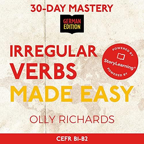 30-Day Mastery: Irregular Verbs Made Easy Titelbild