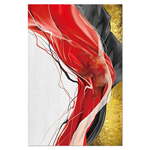 Póster espacial moderno y heterogeneoso, abstracto, lienzo para pared, para salón, oficina, hogar, 50 cm x 30 cm