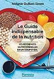 Le guide indispensable de la nutrition : Les références nutritionnelles en un coup d'œil