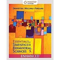Bundle: Essentials of Statistics for The Behavioral Sciences Loose-Leaf Version 9th + MindTap Psychology 2 terms (12 months) Printed Access Card【洋書】 [並行輸入品]