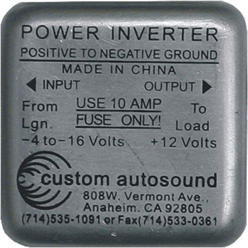 Power Inverter 6v - 12v Positive Ground