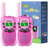 BATURU Kids Walkie Talkies for Girls, Kids Birthday Gifts Toys for 4 5 6 7 8 9 10 Year Old Girls