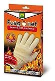 Fuegonet 231214 Guante anti-calórico, Marfil, 15x34x2 cm