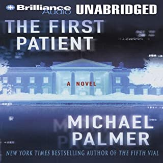 The First Patient audiobook cover art