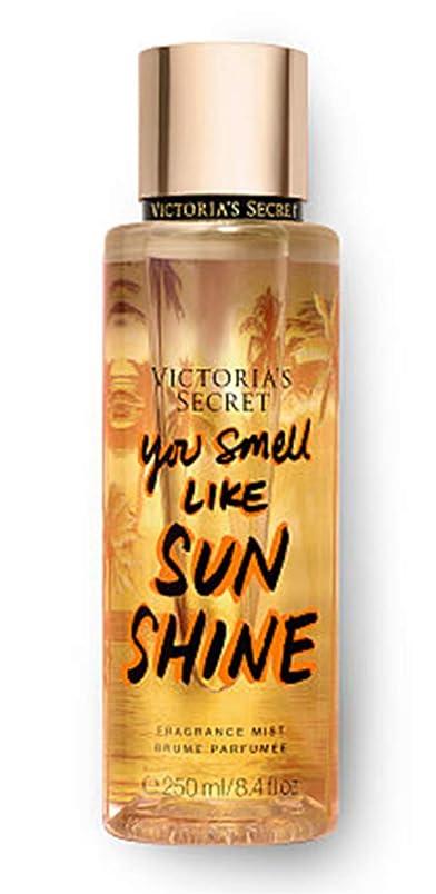 家主騒々しいオゾンビクトリアシークレット VICTORIA'S SECRET フレグランス ミスト ユースメルライクサンシャイン ボディミスト 香水 パフューム ボディケア 250ml