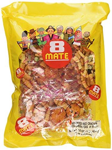 Shirakiku - 8-Mate Assorted Rice Crackers 16 Oz.