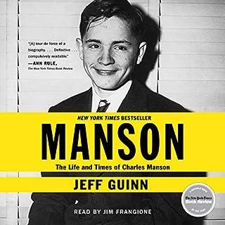 Manson audiobook cover art