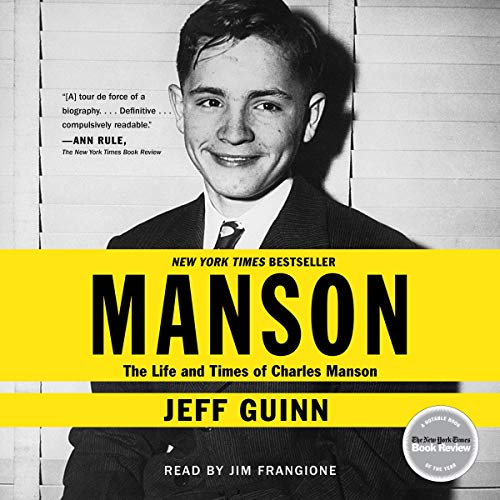 Manson Audiobook By Jeff Guinn cover art