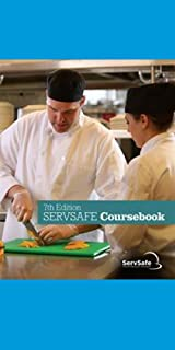SERVSAFE MANAGER BOOK 7TH ED, with answer sheet