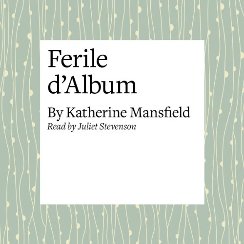 Feuille d'Album audiobook cover art