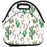 Cactus Camello Animal Neopreno Almuerzo Bolsa Totalizador Aislado Lonchera Contenedor De Alimentos Bolsa De Supermercado Bolsas Refrigerador Bolsa Caliente