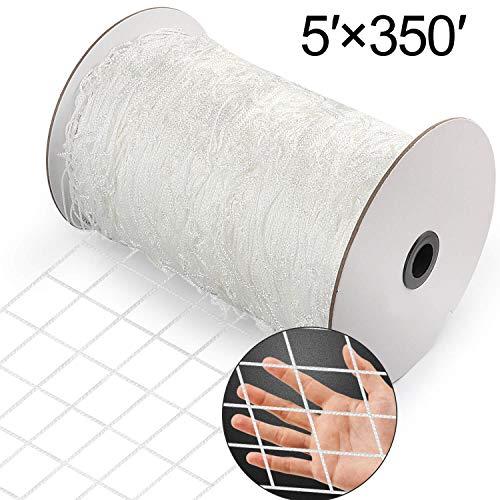 vensovo Heavy Duty Trellis Netting Roll  5x350 Ft Polyester Plant Trellis Net for Climbing Plants…