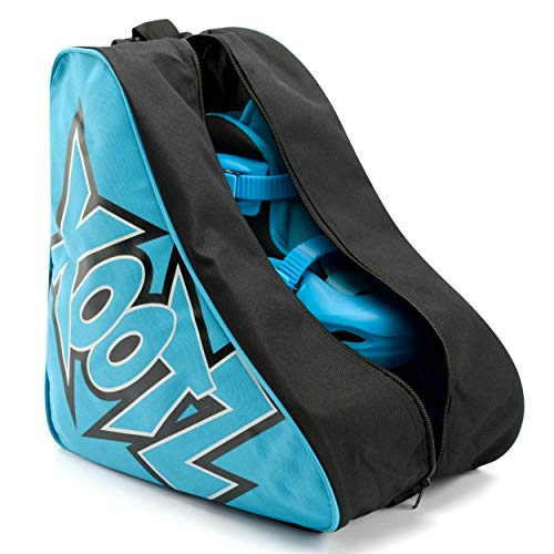 Xootz Roller Skate Carry Bag - Unisex Carry Case for Kids and Adults Quad Skates, Blue