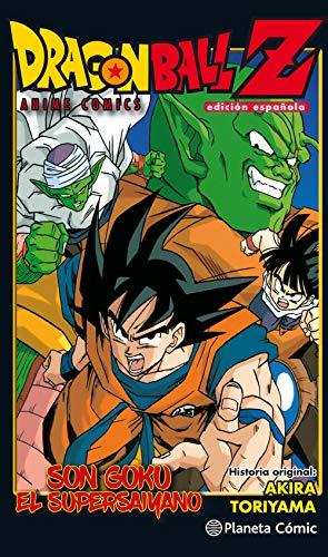 Dragon Ball Z Anime Comic Goku es un Super Saiyan (Manga Shonen)