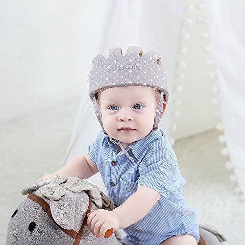 Verstellbarer Sicherheitshelm für Babys und Kleinkinder, Kopfschutz für Kinder zum Laufen und Krabbeln, Kopfschutz für Kinder
