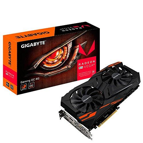 Gigabyte Radeon Computer Graphics Cards (GV-RXVEGA64GAMING OC-8GD)