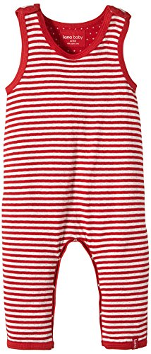 Lana Natural Wear - Pantalon - Mixte bébé, Multicolore (Tomate-Natur 2200), 12 mois