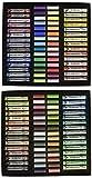 Rembrandt Soft Pastel Master Box Set, 120-Piece (60 Full Sticks + 60 Half Sticks), General Selection