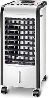 SMINNG Portatil Aire Acondicionado Frio Calor, Climatización Y Calefacción, Calefactor Purificador Tanque De Agua 4L Silenciosa para Casa U Oficina